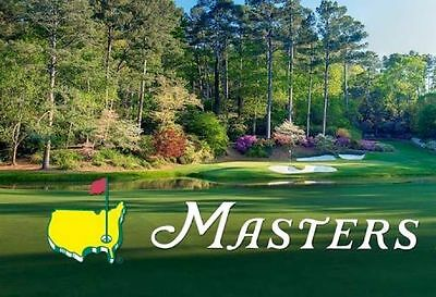 2018 Masters Tournament Tickets - Friday April 6 Round 2