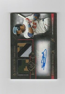 2017 Topps Museum Collection Baseball Miguel Sano Sig Swatches Patch Auto 0525