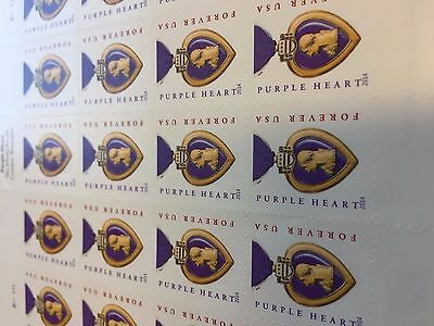 WCstamps 490-00 Face Value - 50 Sheets 1000 USPS Forever Stamps New LOT1