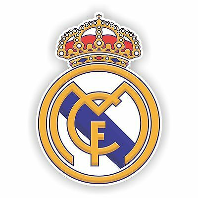 Real Madrid Spain Decal  Sticker Die cut