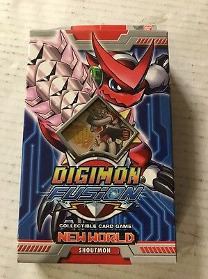 Digimon Fusion Shoutmon Theme Deck For Card Game TCG CCG