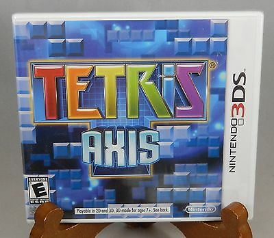Tetris Axis Nintendo 3DS Brand New Factory Sealed Game