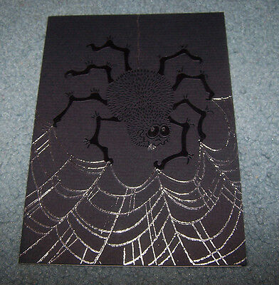 Lot of 5 Rohnart Halloween greeting cards- Design by David Martin- New