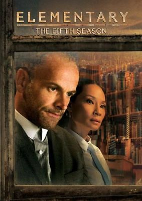 Elementary The Fifth Season 5 DVD 2017 6-Disc Factory Sealed Free Expedited