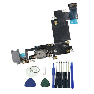 OEM Charger Dock Charging Port Headphone Flex Cable For iPhone 6S Plus 5-5 gray