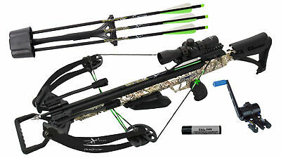 NEW Carbon Express PileDriver 390 Crossbow Package w Cranking Device - 20310