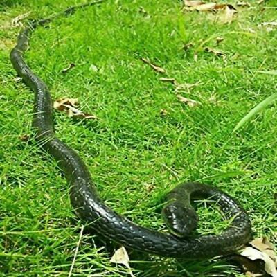 50 Realistic Snake Rubber Snake Lifelike Durable Garden Scary Gag Props Toy