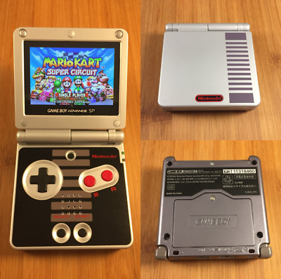 🔴THE BEST Nintendo Game Boy Advance GBA SP - AGS-101 Model