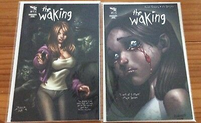Zenescope Comics - THE WAKING - Lot of 2 - Issue  3 and Issue 4