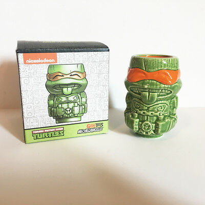 TMNT Michelangelo Tiki - Loot Crate Geeki Tikis Teenage Mutant Ninja Turtles mug