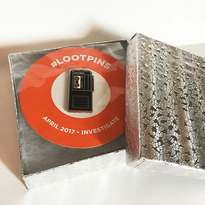 Investigate Cassette Tape Recorder pin - NEW Loot Pins 2017 Exclusive
