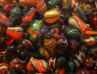 Hand-blown Glass Drip Tip for atomizer RDARBA- One-of-a-kind borosilicate Vape