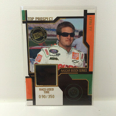 JJ Yeley 2004 Press Pass race used tire card 090350 JY-T Nascar trading card