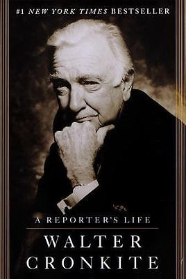 A Reporters Life by Walter Cronkite 1997 Paperback
