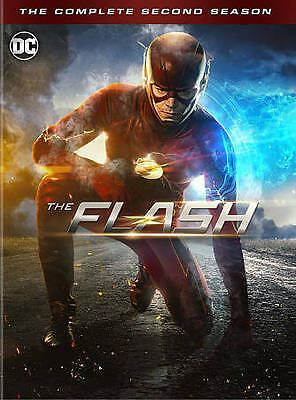 New The Flash The Complete Second Season 2 DVD 2016 6-Disc Box Set
