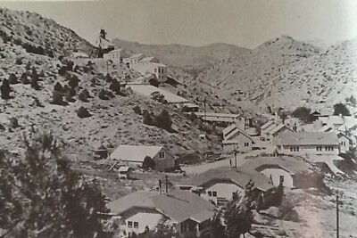 SILVER LEAD GOLD MINE ON PATENTED LAND  TYBO GHOST TOWN NEVADA