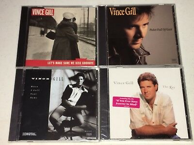 Vince Gill CD Lot of 4 Brand New Sealed Country Music Cds