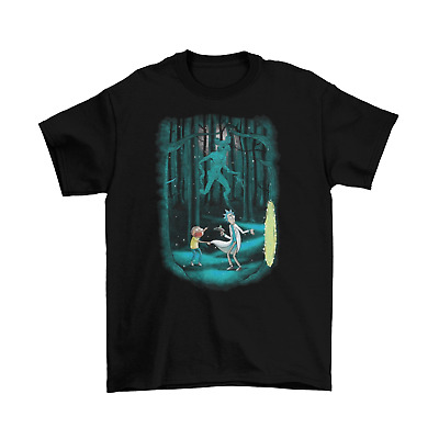 Rick and Morty Portal Stranger Things T-Shirt Unisex Cotton TV Sizes New
