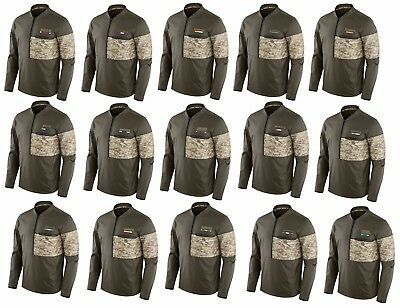 Mens NFL 2017 Salute to Service Hybrid 12 Zip Jacket Several Teams