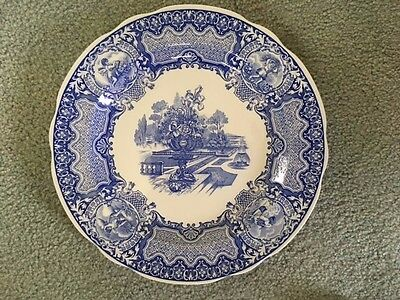 SPODE The Blue Room Collection Seasons Dinner Plate