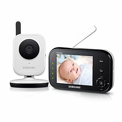 Samsung SEW-3036W BabyVIEW Baby Monitoring System IR Night Vision Zoom 3-5in