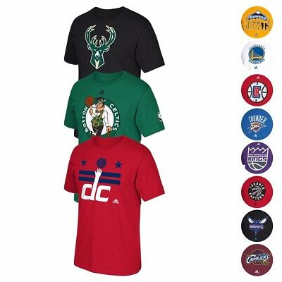 NBA Adidas Team Logo Graphic T-Shirt Collection Mens