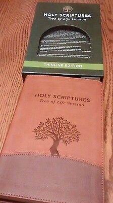 TREE OF LIFE VERSION MESSIANIC JEWSIH FAMILY BIBLE SOCIETY WITH BOX INDEXED