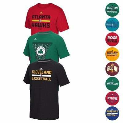 NBA Adidas Ultimate Climalite Performance Short Sleeve T-Shirt Collection Mens