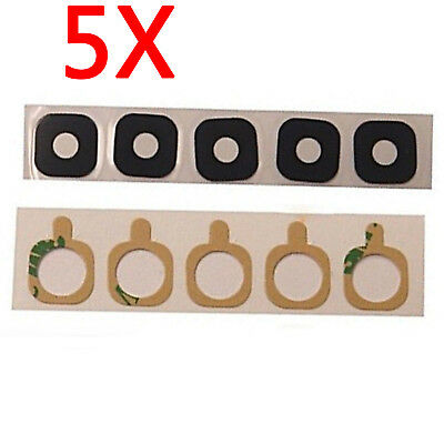 5x Rear Back Camera Glass Lens Cover Adhesive For Samsung Galaxy S8 G950F G950U