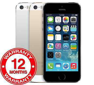Apple iPhone 5s 16GB32GB64GB - Unlocked SIM Free Smartphone - GoldSilverGrey