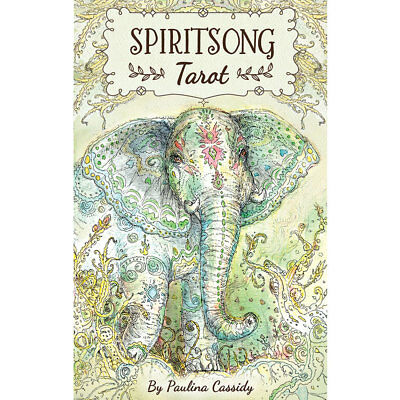 Spiritsong Tarot NEW Deck and Book Set by Paulina Cassidy 2017 3x5 Cards