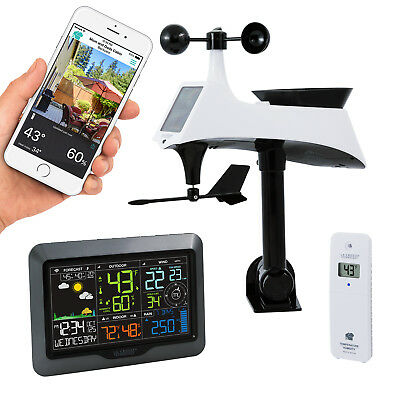 S84060 La Crosse Technology Professional Remote Monitoring Color Weather Station