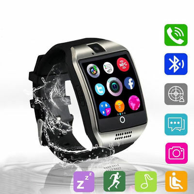 Waterproof Bluetooth Smart Watch TFSIM GSM Phone Mate For IOS Samsung Android