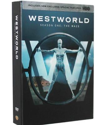 Westworld The Complete First Season DVD 2017 3-Disc Set Brand New Sealed