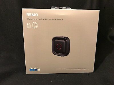GoPro Remo Waterproof Voice Activated Remote Official Accessory w HousingStrap