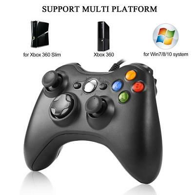Wired USB Game Controller Joystick for Microsoft Xbox 360  PC Windows XP 7 8 10