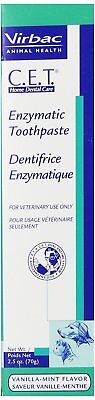 C-E-T- Enzymatic Dental Toothpaste for Dogs and CatsVanilla-Mint Flavor 2-5 oz
