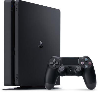 Sony PlayStation 4 PS4 - BLACK 500GB with LOTS OF EXTRAS - FAST FREE SHIP