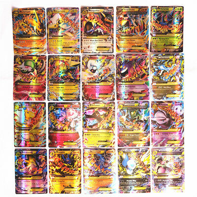 Pokemon TCG  60 CARD LOT GUARANTEED MEGA FUSION CARDS LOTS FULL ART TOY FOR KID