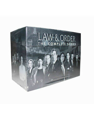 Law and Order The Complete Series DVD 104-Disc 2011 Seasons 1-20 Brand New