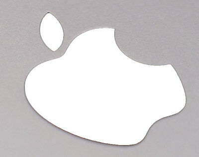 White Color Changer Logo Overlay for the new Apple Retina 12 Macbook Sticker