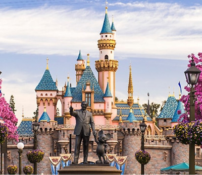 Disneyland  3-day 1 Park tickets - Includes one Magic Morning - Adult