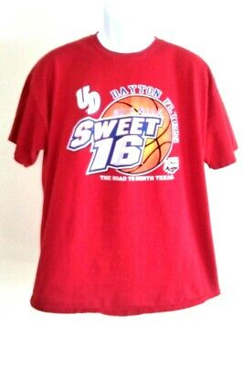 U of Dayton Flyers Sweet 16 Basketball Road to Final Four - 2014 NCAA T-Shirt