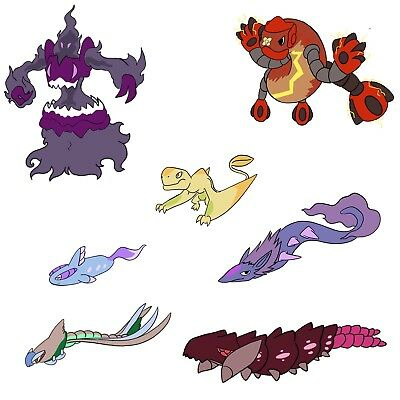 FakemonPokemon Fusion Stickers In Multiple Colors