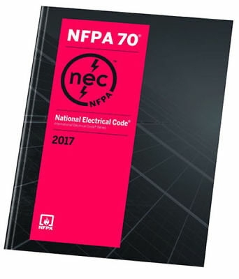 NFPA 70 National Electrical Code 2017 1st Ed- BRAND NEW US EDITION- PAPERBACK