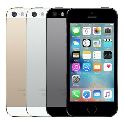 Apple iPhone 5s  Gold Silver Gray  Unlocked Verizon at-t t-mobile Smartphone