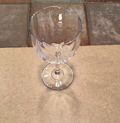 Baccarat Crystal Montaigne Optic 6 38 Tall Red Wine Glass