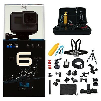 DEAL GoPro HERO6 - ALL You Need Accessories Kit- Hero 6 Action Camera Camcorder