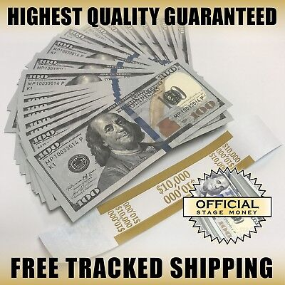 10000 Top Quality Stack - Film Movies TV Music Videos Play Stage Fake Money
