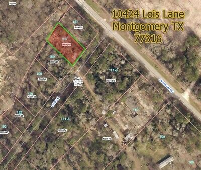 13 Acre Country LOT N- OF HOUSTON TX -NO MINIMUM -NO RESERVE- HIGH BID OWNS IT